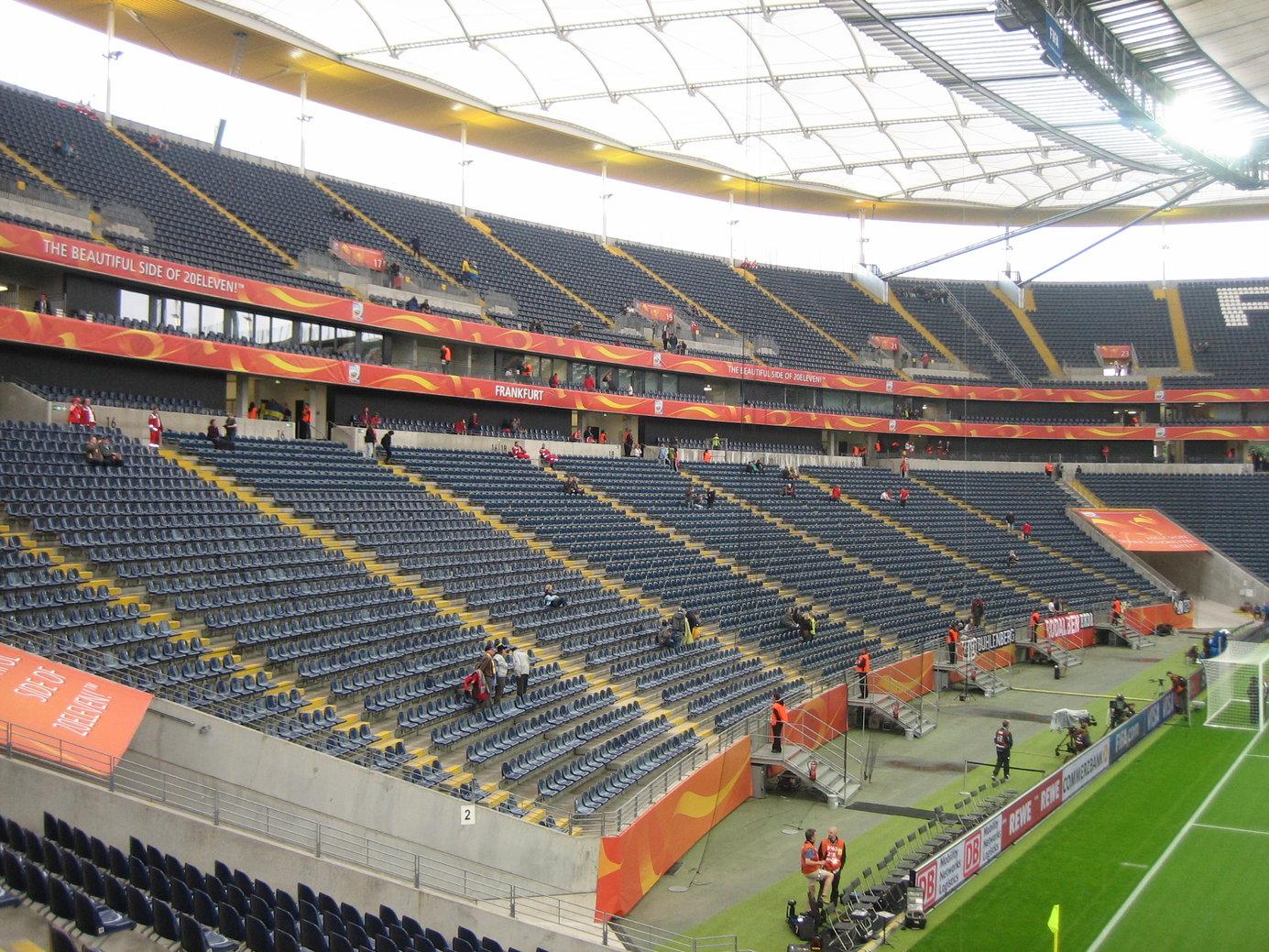 Commerzbank Arena Gegentribüne