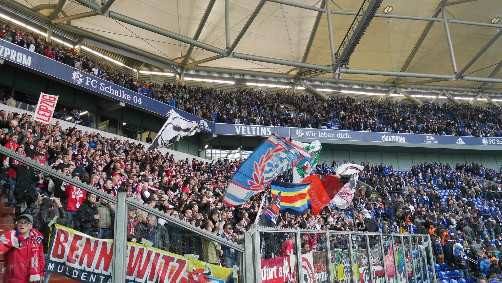 Schalke Gästeblock