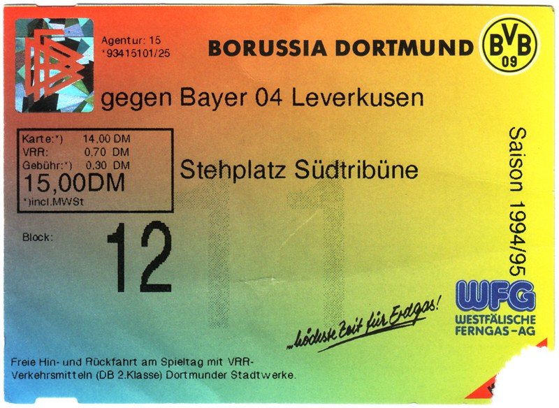 1 bundesliga 1994 95: