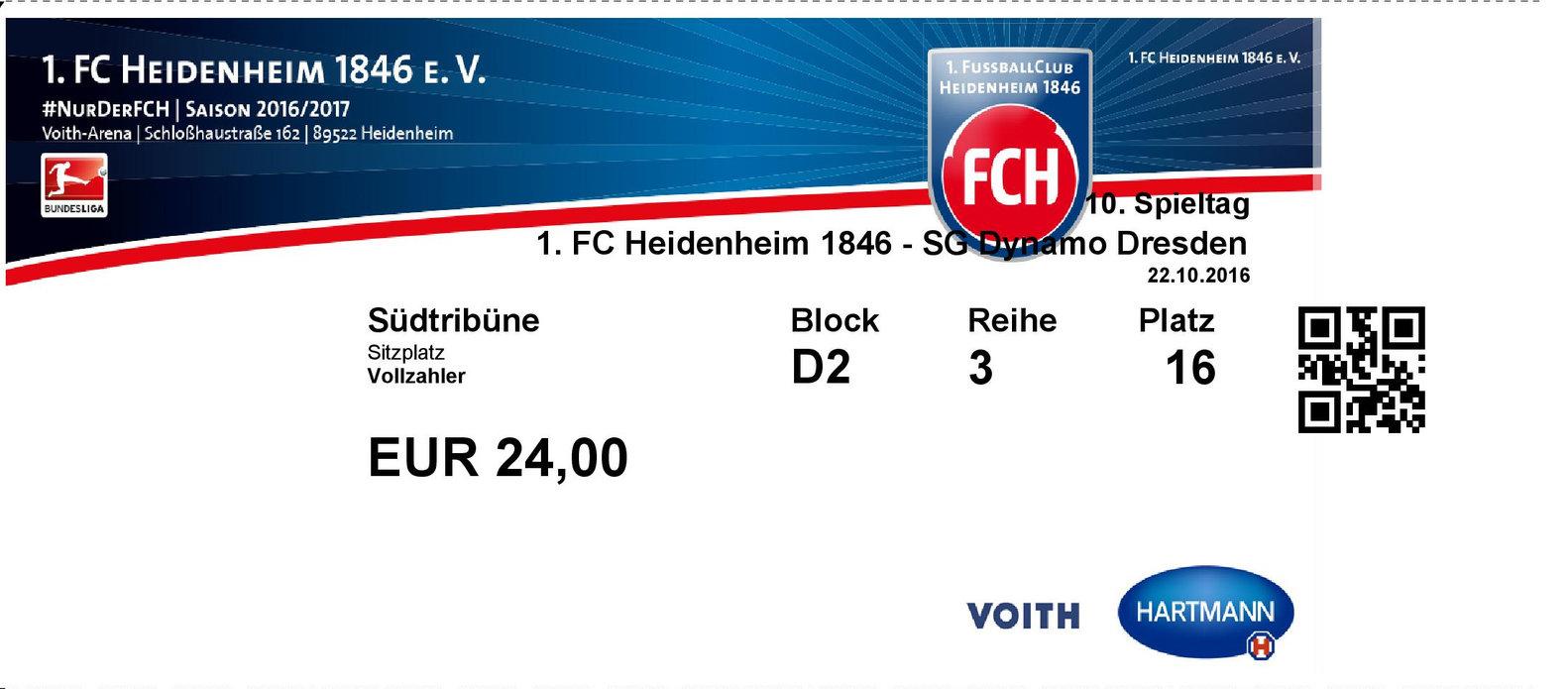 Tickets Heidenheim