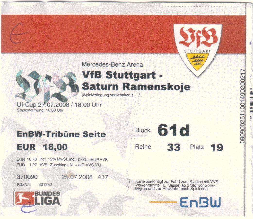 Vfb.De Tickets